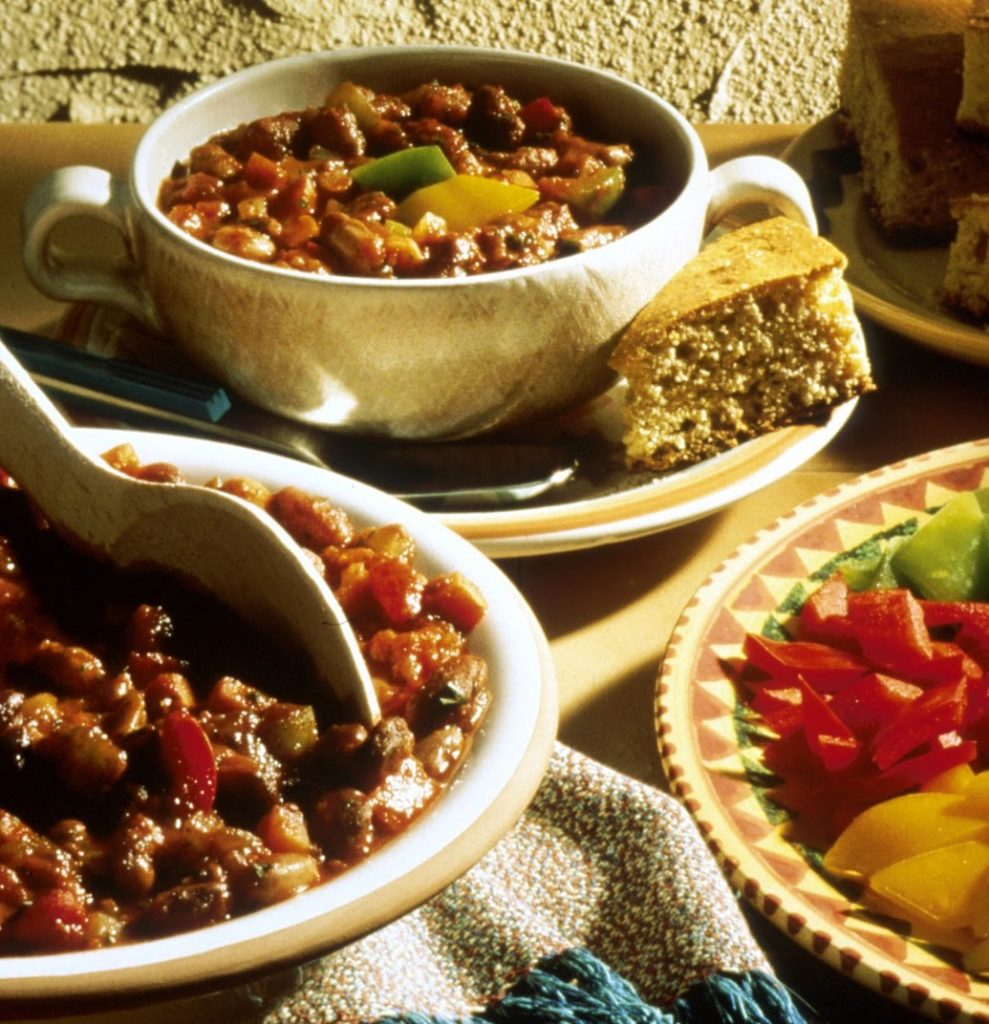Vegetable Chili for heart healthy nutrition