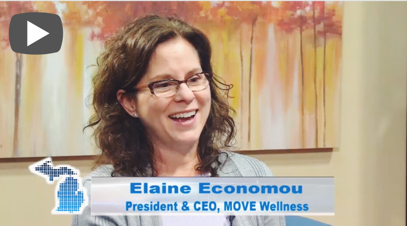 Elaine Economou, MOVE's CEO and President sits down with Michigan Entrepreneur TV to talk about running a successful fitness studio