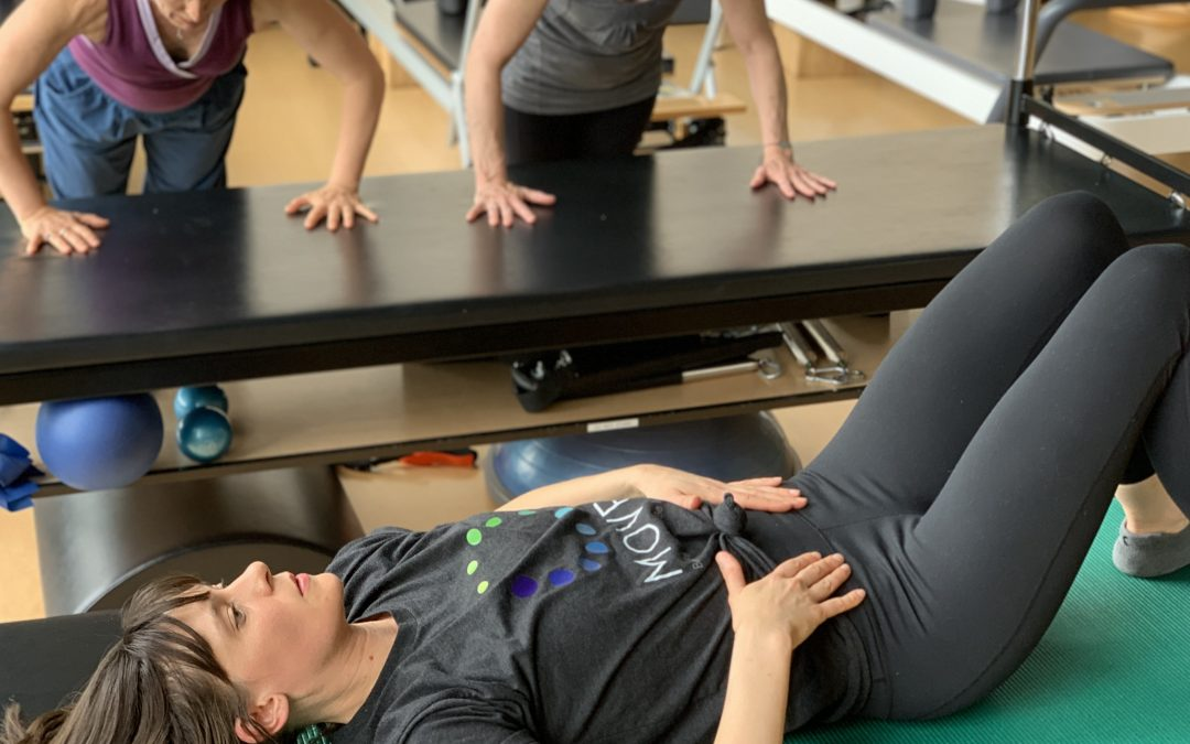 Daily Pilates for pelvic floor health