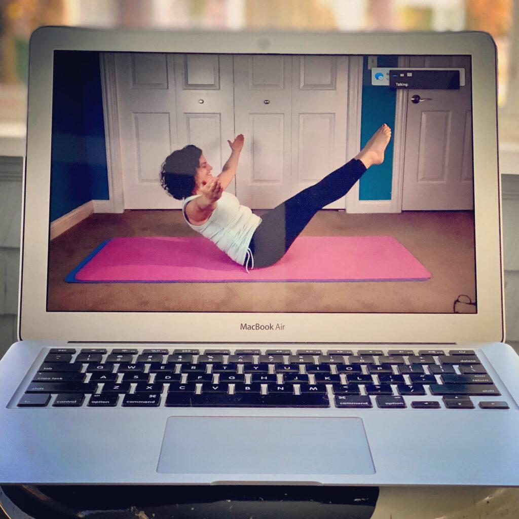 Pilates Trainer Livestream Class