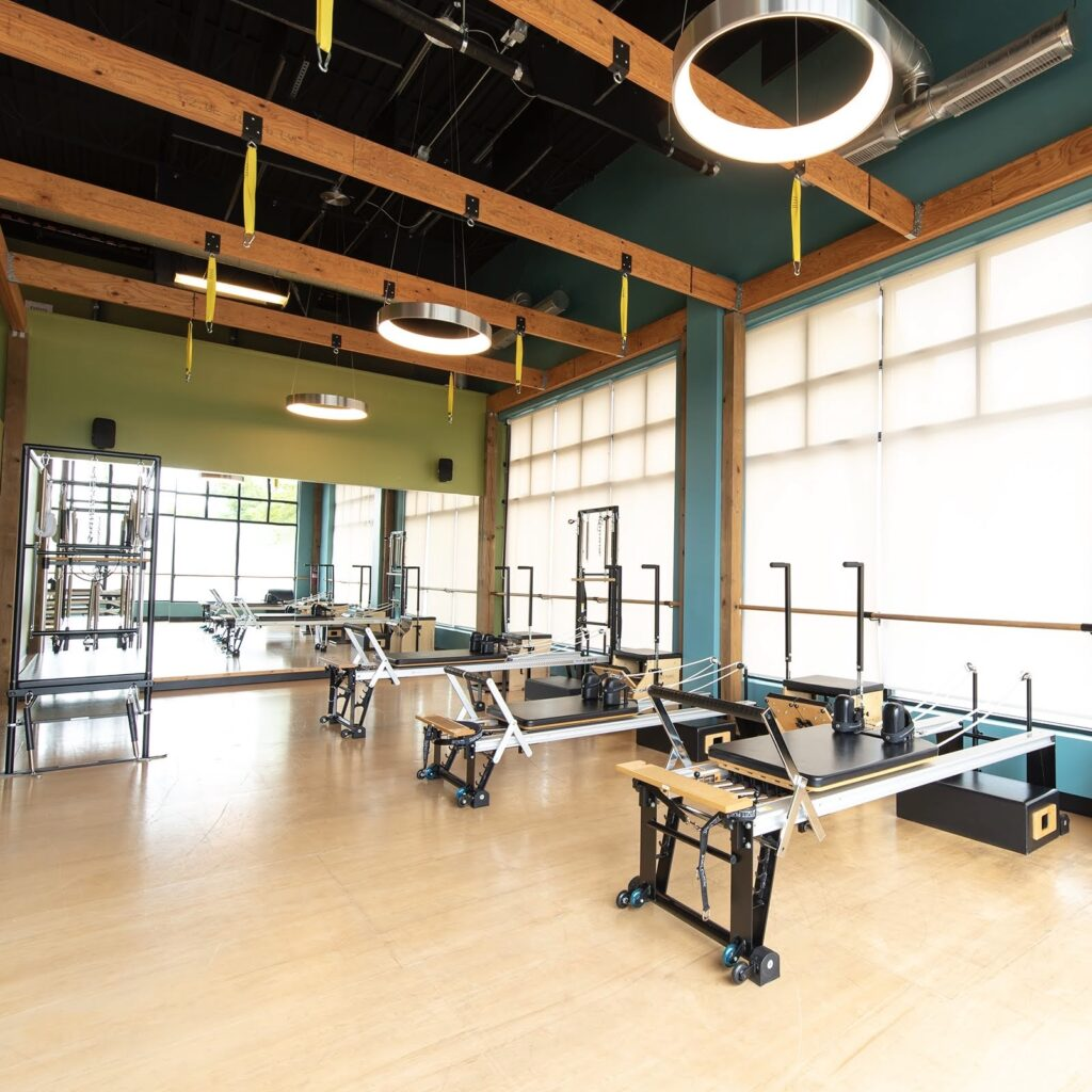 Pilates Equipment at MOVE Wellness